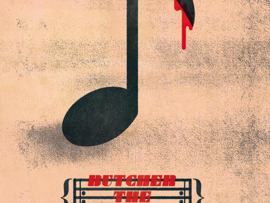 The Public House Print Ad - Scaryoke