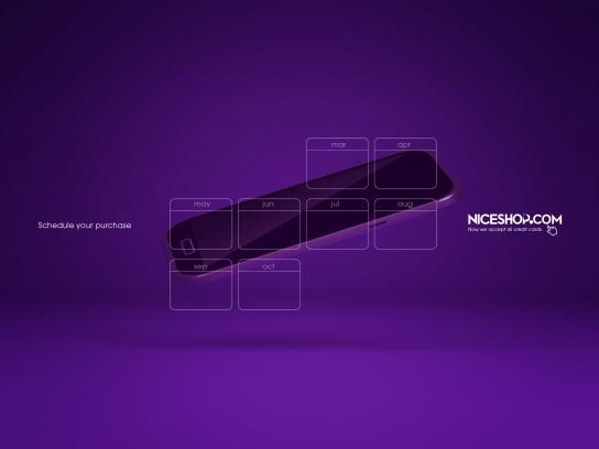 Niceshop Print Ad - Cellphone