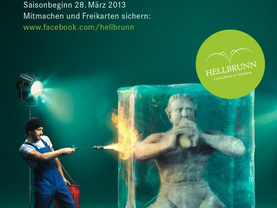 Hellbrunn Palace Outdoor Ad -  Season opening, 2