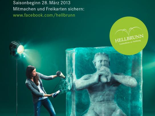 Hellbrunn Palace Outdoor Ad -  Season opening, 3