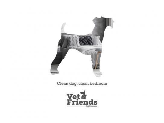 Vet Friends Print Ad - Schnauzer