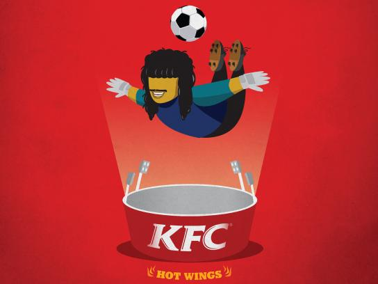 KFC Print Ad - Spice Things Up: Scorpion