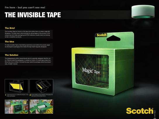 Scotch Direct Ad -  Magic tape