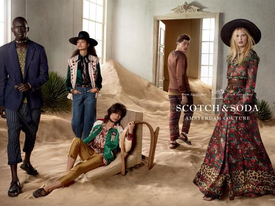 Scotch & Soda Print Ad - Room 1