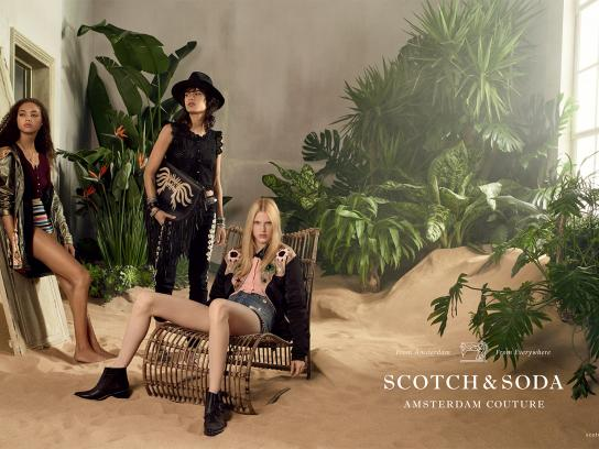 Scotch & Soda Print Ad - Room 3