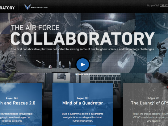 U.S. Air Force Digital Ad -  Air Force Collaboratory