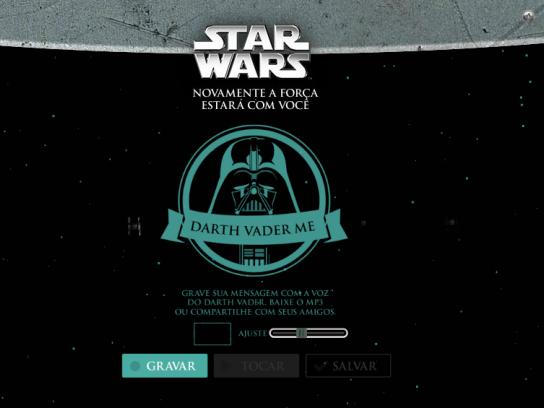 Fox Digital Ad -  Darth Vader Me