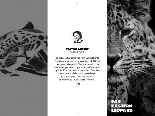 WWF Digital Ad -  Wild tattoos