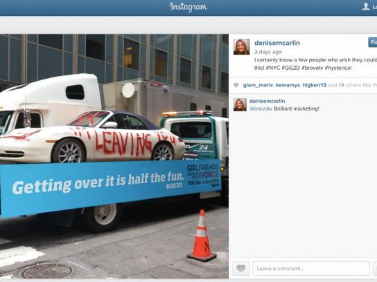 Bravo TV Ambient Ad -  Cars