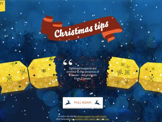 The Law Society of Scotland Digital Ad -  Xmas Legal Tips
