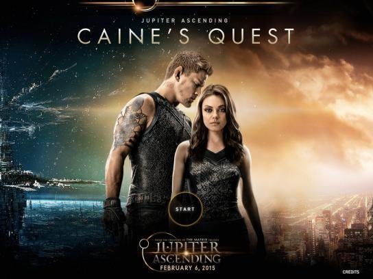 Jupiter Ascending Digital Ad -  Caine's Quest