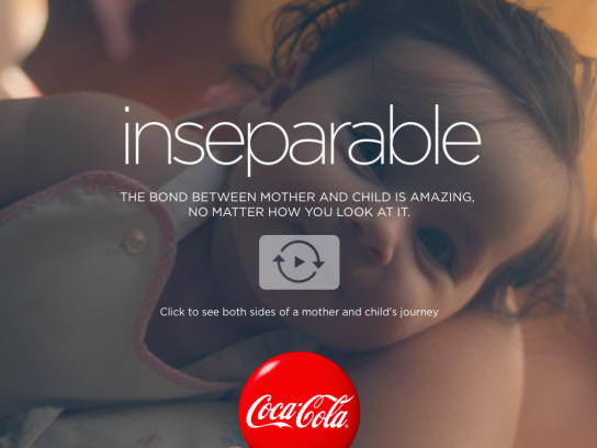 Coca-Cola Digital Ad -  Inseparable