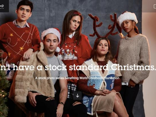 Ogilvy NY Digital Ad -  Don't have a Stock Standard Holiday