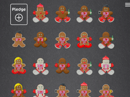 Camp Pacific Digital Ad -  Gingerbread donors
