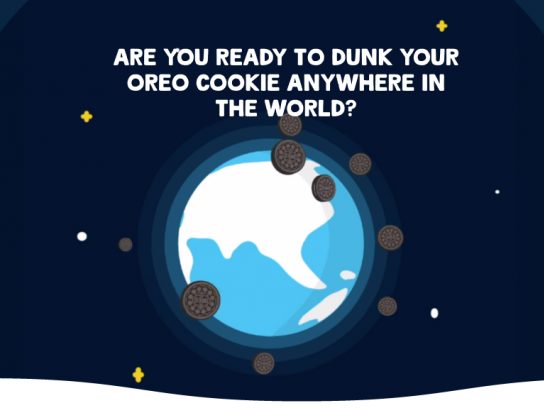 Oreo Digital Ad - Oreo Space Dunk
