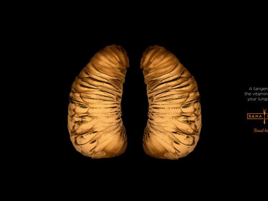 Sana Sana Print Ad - Lungs