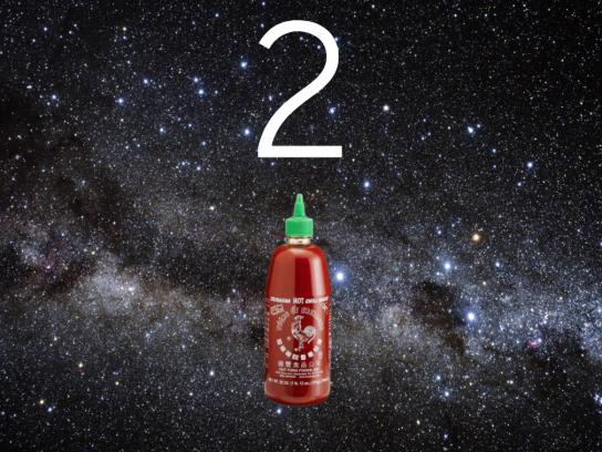 Huy Fong Foods Digital Ad - Sriracha In Space