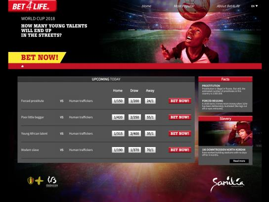 Samilia Integrated Ad - Bet4Life