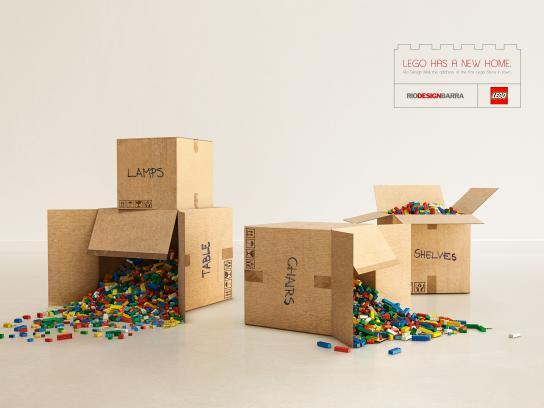 Rio Design Print Ad -  New home