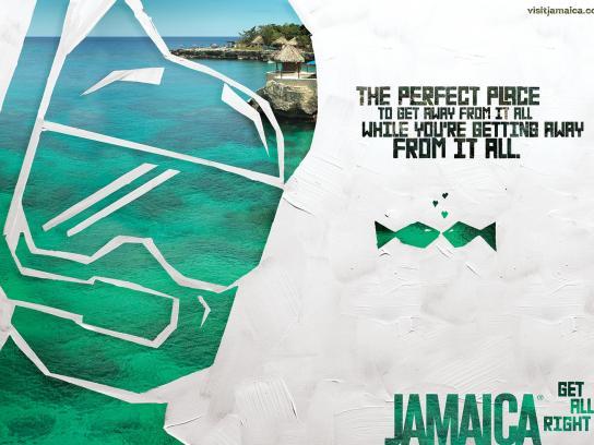 Jamaica Tourist Board Print Ad -  Scuba