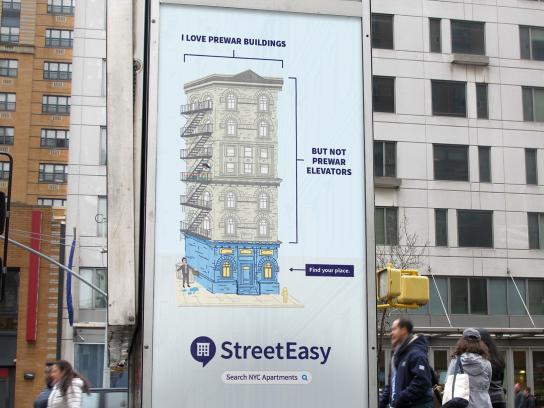 StreetEasy Outdoor Ad - Building Prewar 2