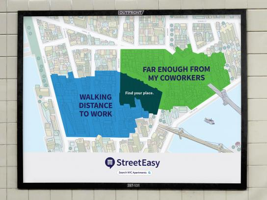 StreetEasy Outdoor Ad - Coworkers
