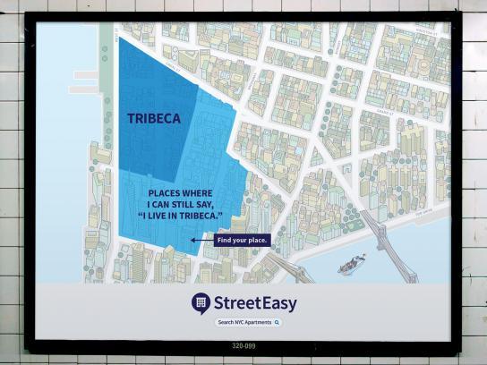 StreetEasy Outdoor Ad - Tribeca