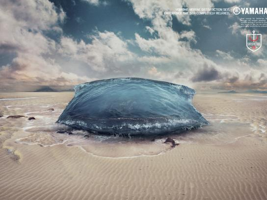 Yamaha Print Ad -  Satisfaction sea