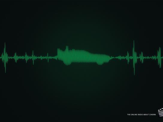 SeanceRadio.com Print Ad -  DeLorean