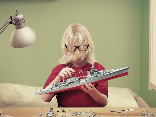 Sears Print Ad -  Boat