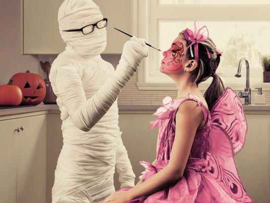Sears Print Ad -  Makeup