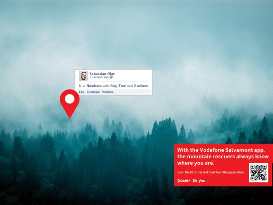 Vodafone Print Ad -  Sebastian