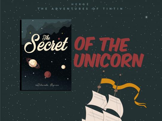 OM Book Shop Print Ad - Secret Of The Unicorn