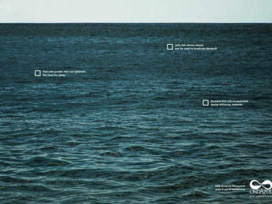 Onda Azul Print Ad -  Selfishness, 4