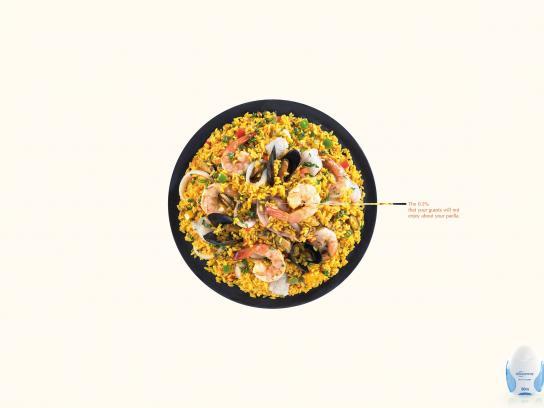 Sensodyne Print Ad - Paella