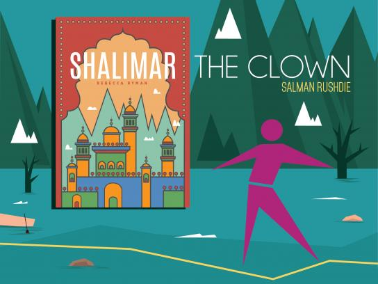 OM Book Shop Print Ad - Shalimar The Clown