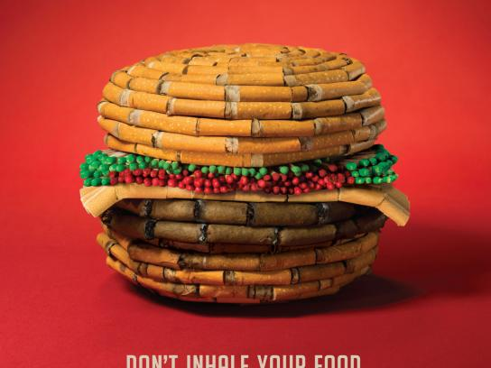 Share Air Print Ad -  Food