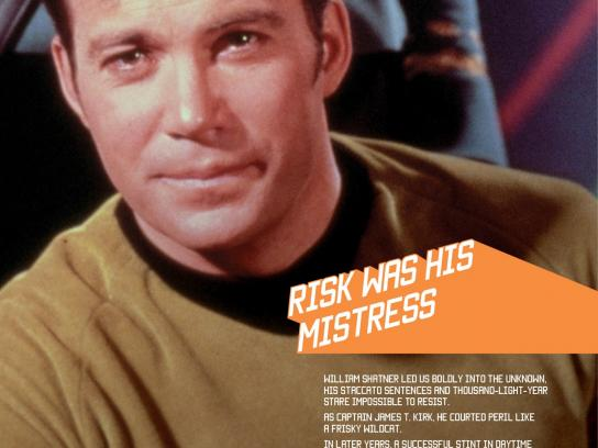 SKY Print Ad -  William Shatner