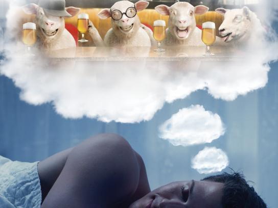 Caminho de Casa Print Ad -  Counting sheep