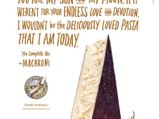 Wisconsin Cheese Print Ad -  My darling
