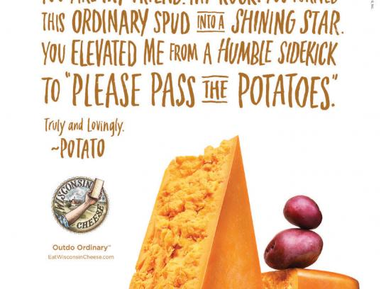 Wisconsin Cheese Print Ad -  My dearest