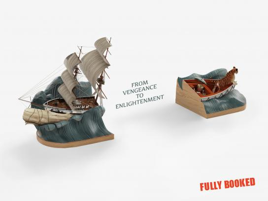 Fully Booked Print Ad -  Ship