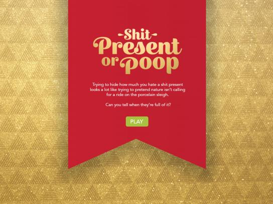 Happy Box Store Digital Ad - Shit Present or Poop