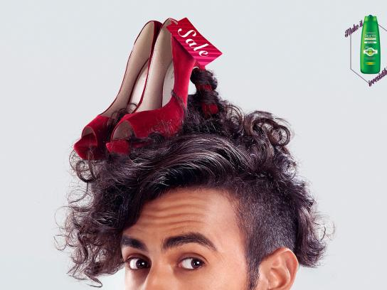 Garnier Print Ad -  Shoes