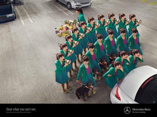 Mercedes Outdoor Ad -  Shopper