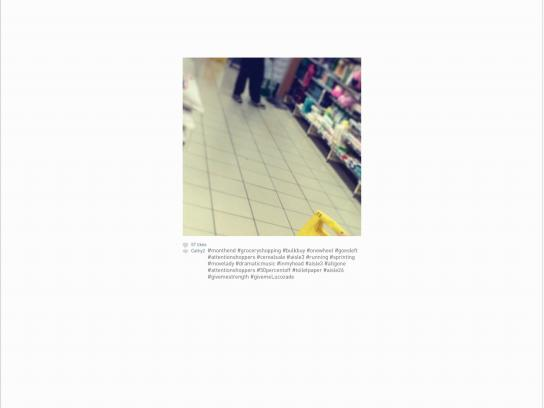 Lucozade Print Ad -  Shopping