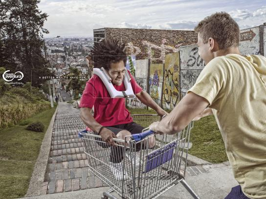 Mundo Aventura Print Ad - Shopping Cart