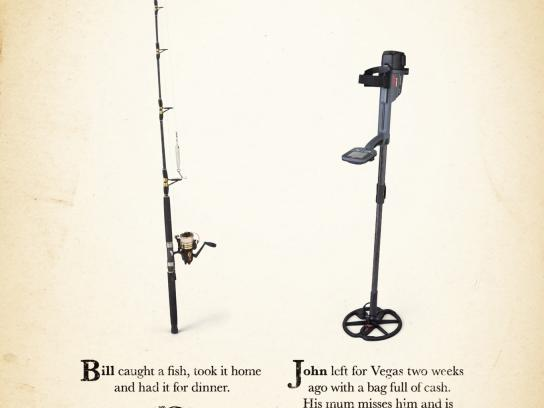 Minelab Print Ad -  Comparison, 1