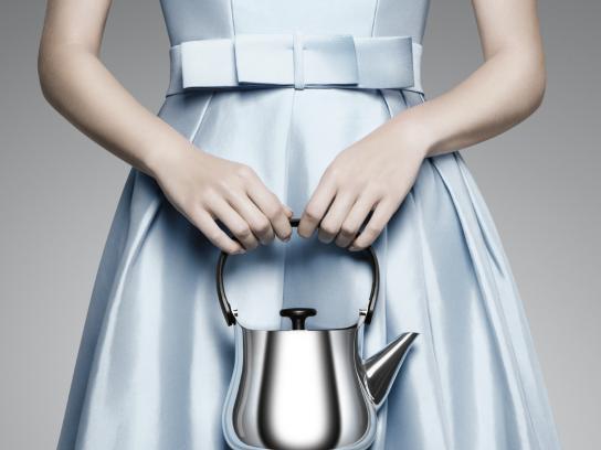 Sibler Fine Print Ad - Teapot