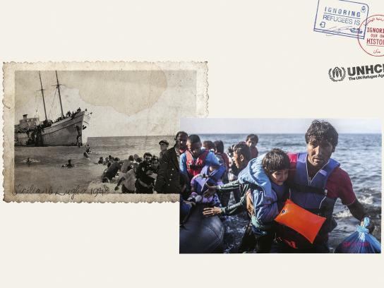 UNHCR Print Ad - Sicilia